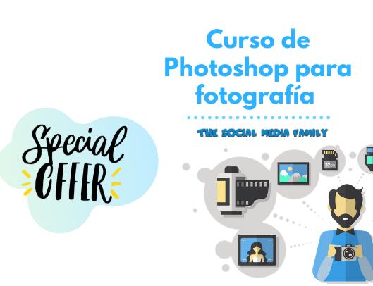Curso de edición de imágenes para redes sociales con Photoshop