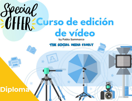 Diploma del Curso de edición de vídeo