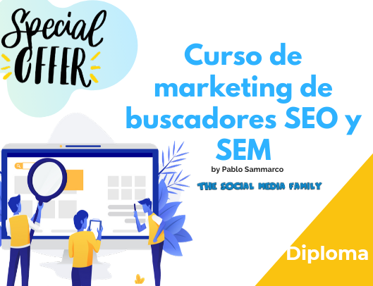 Diploma del Curso de Introducción al Marketing de Buscadores SEO y SEM