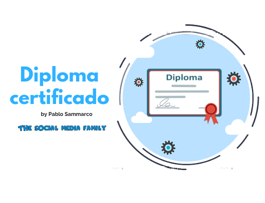Diploma de participación en el curso de Marketing Digital