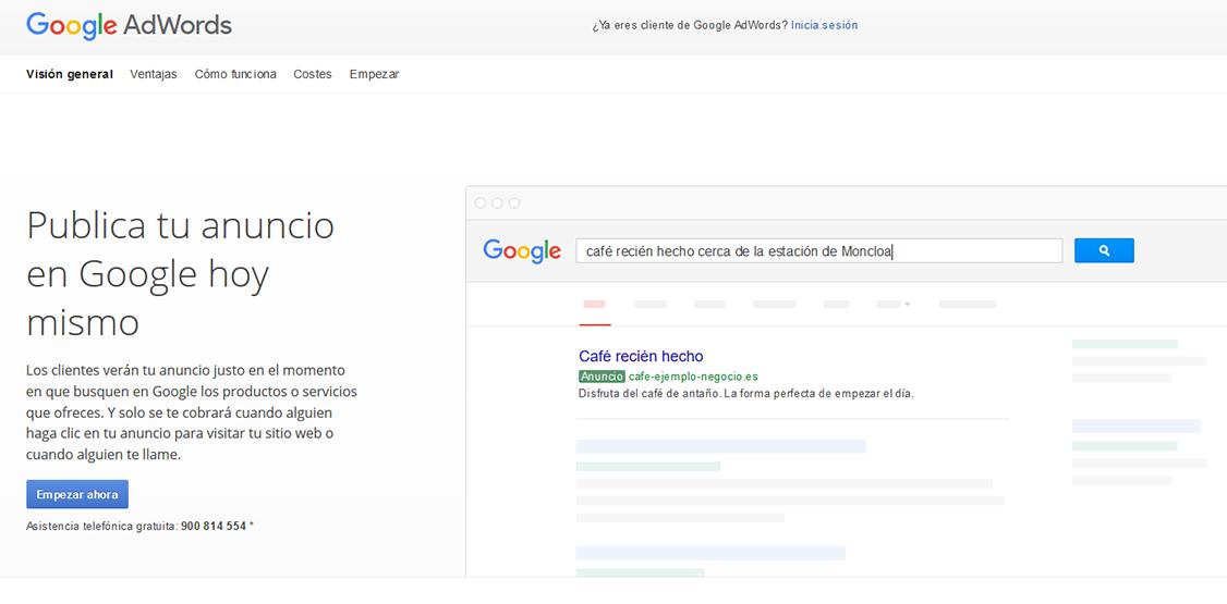 Inicio-google-adwords