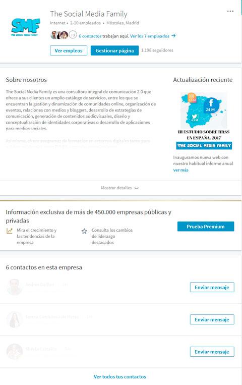pagina-empresa-the-SMF-linkedin