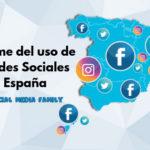 Informe de los perfiles en redes sociales de España