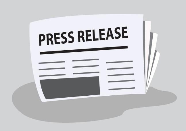 press-release-vector