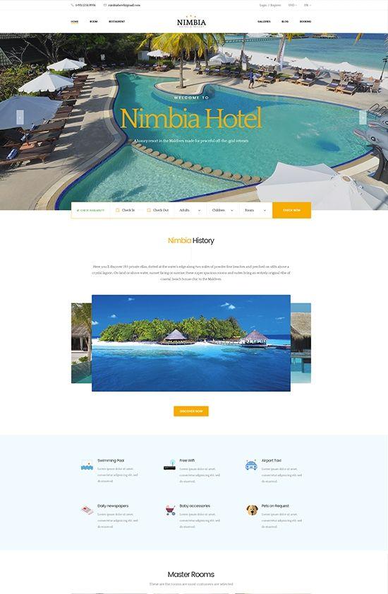 Plantilla PrestaShop para hoteles