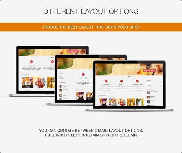 ba87d483bb plantillas PrestaShop con blog incorporado válida para cualquier negocio