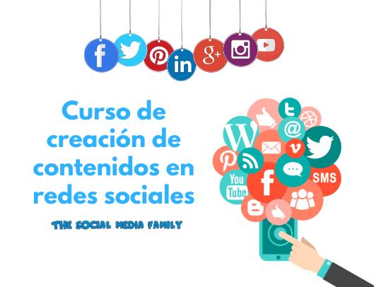 Curso de creación de contenidos en redes sociales