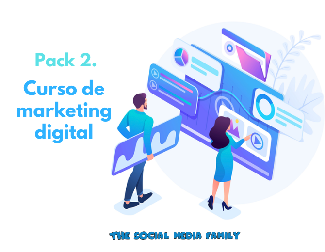 Pack 2. Curso de marketing digital - formación online